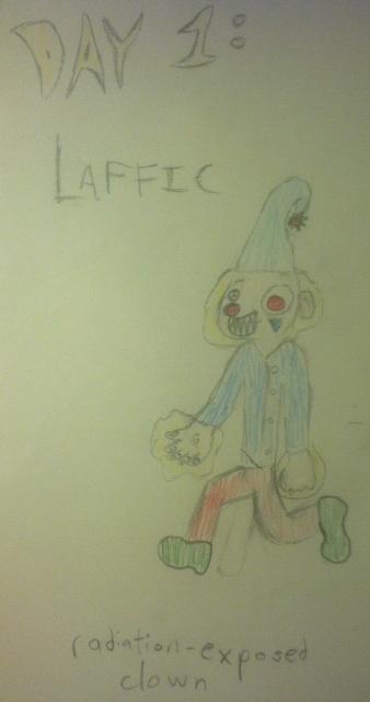 Day 1: Laffic