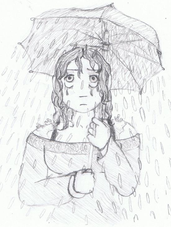 Day 13: Rainy Umbrella