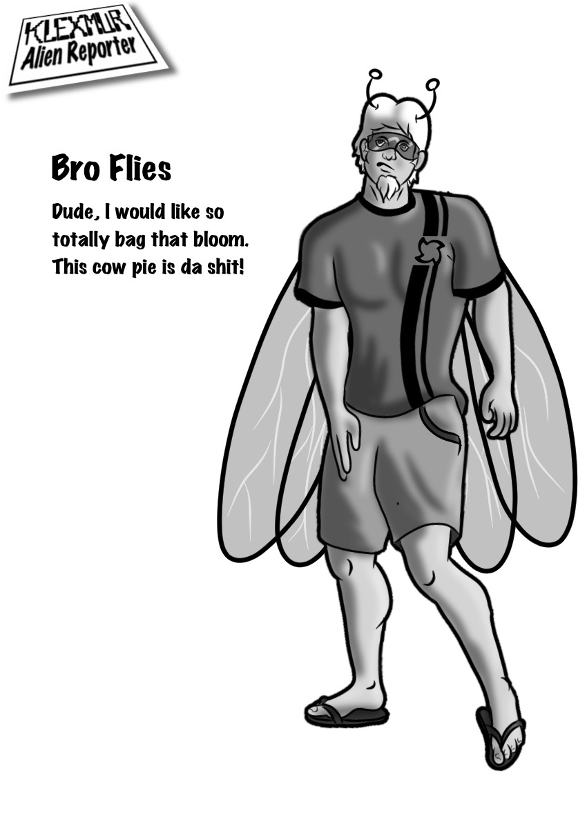 Day 19: Bro Flies