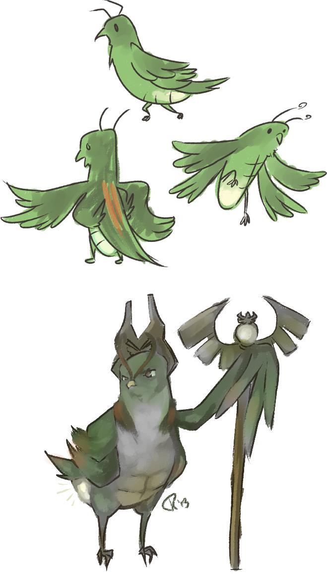 Day 4: Buggabirds
