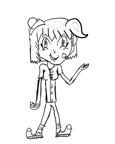 4: the un-named helpful girl