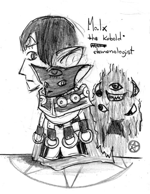 Malx the Kobold Demonologist