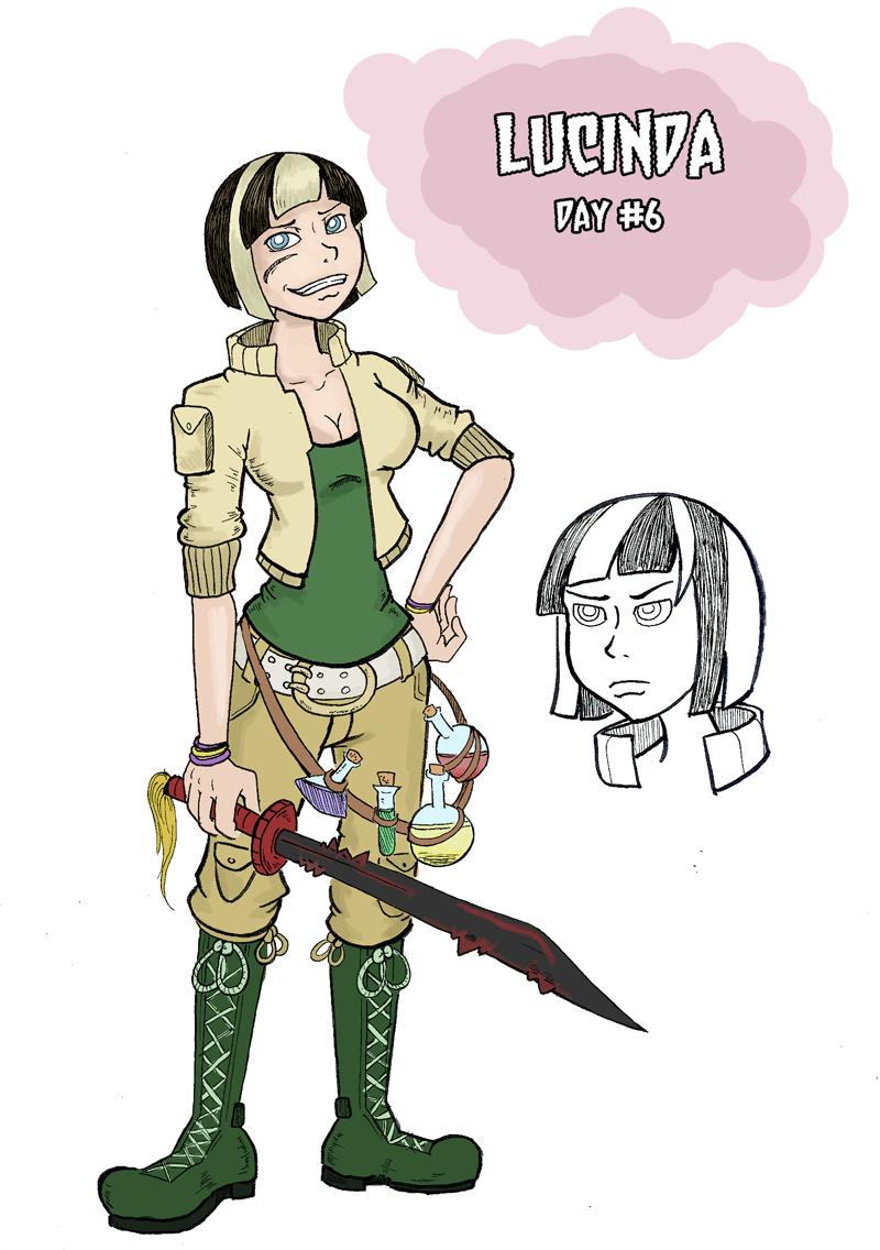 Lucinda: Swordswoman Wizard