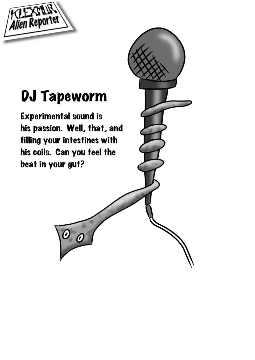 Day 12: DJ Tapeworm