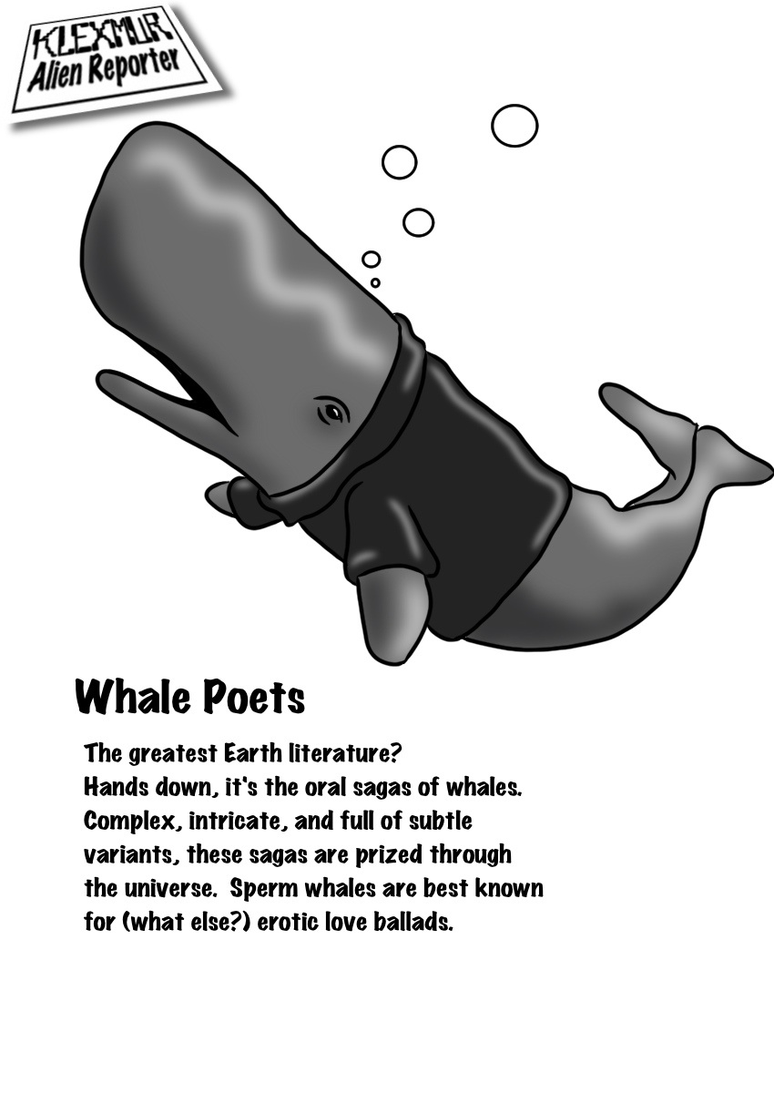Day 10: Whale Poets
