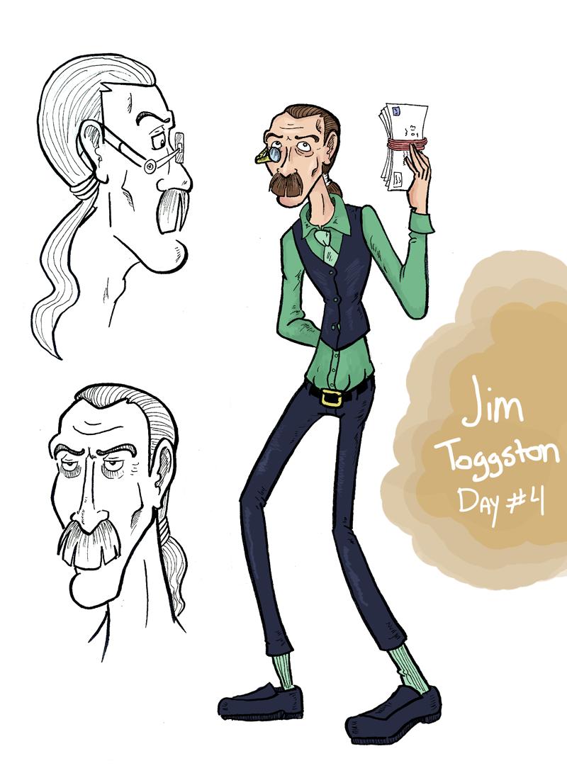 Jim Toggston: Postmaster