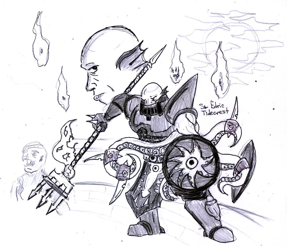 Sir Edric Tidecrest: Kraken Crusader