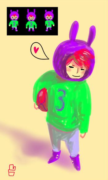 Day 4: Rabbit guy