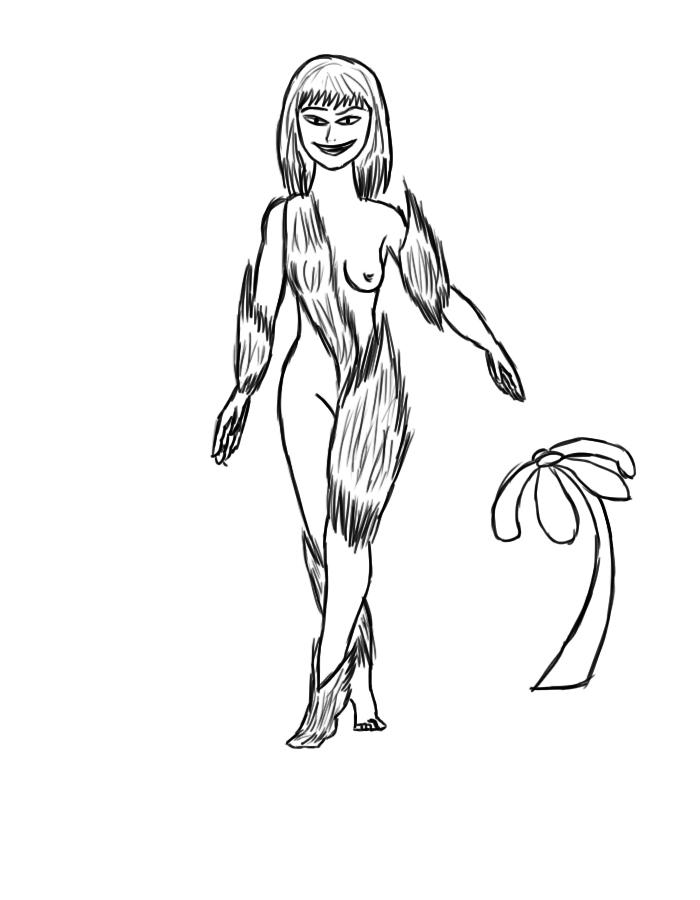 #3 Plant goddess