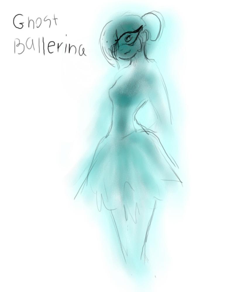 #2 ghost ballerina