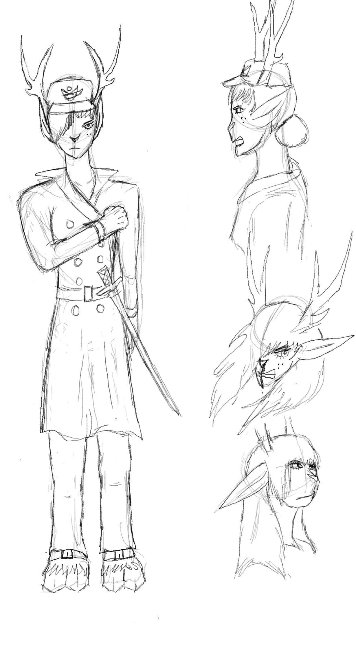 02-Officer deer lady
