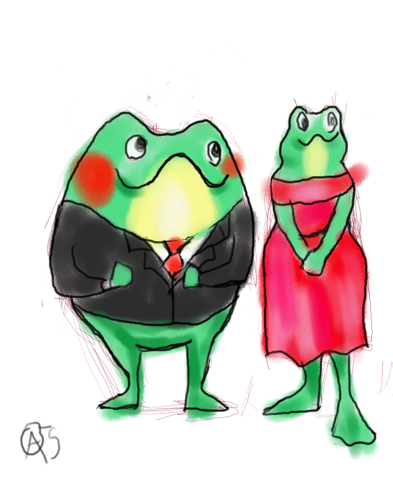 #25 frog people