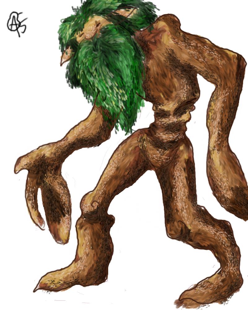 #23 green man