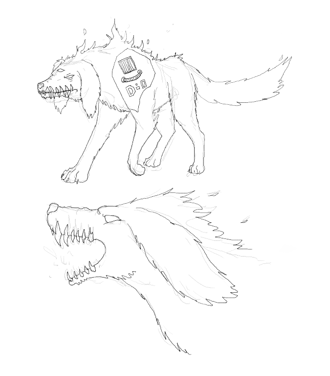 13-Flame hound