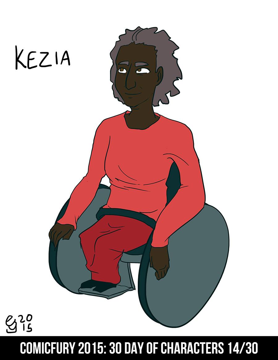 Day 14: Kezia