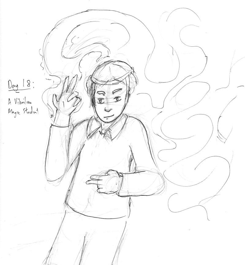 18-A Vibrilian Magic Student.